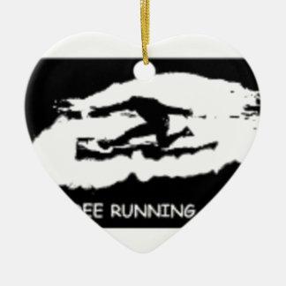 PARKOUR FREE RUNNING CERAMIC HEART DECORATION