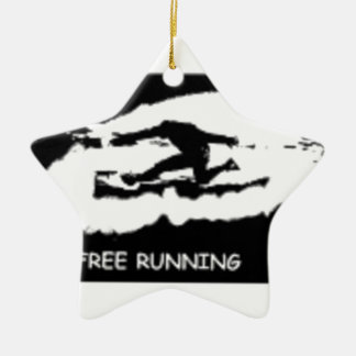 PARKOUR FREE RUNNING CERAMIC STAR DECORATION