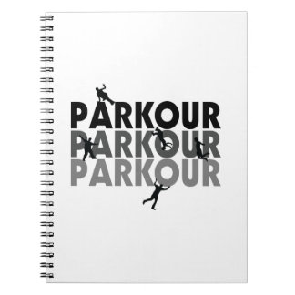 Parkour Free Running Note Books