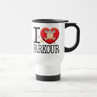 Parkour Love Man Travel Mug