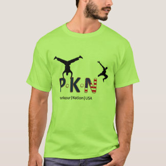 Parkour Nation USA T-Shirt