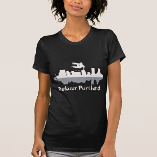 Parkour Portland tshirt