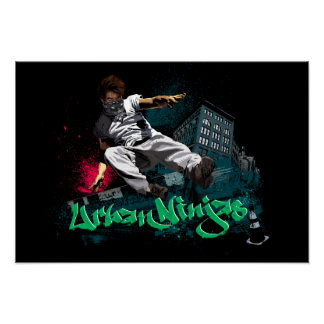 Parkour - Urban Ninjas Poster