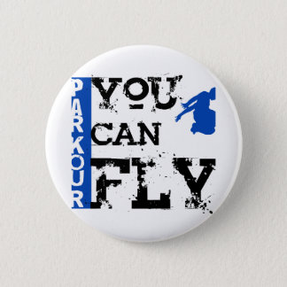 Parkour - You Can Fly 6 Cm Round Badge
