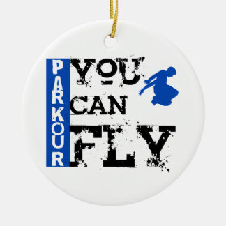 Parkour - You Can Fly Christmas Ornament
