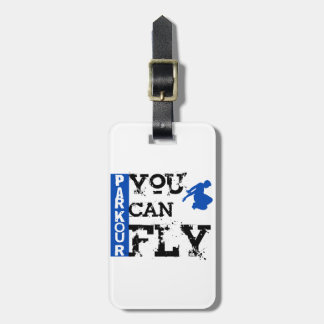 Parkour - You Can Fly Luggage Tag