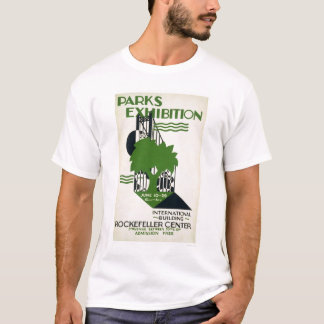 Parks Exhibition NYC 1937 WPA T-Shirt