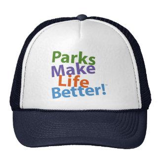 Parks Make Life Better! Official Logo Cap