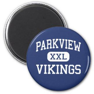 Parkview - Vikings - High - Orfordville Wisconsin 6 Cm Round Magnet