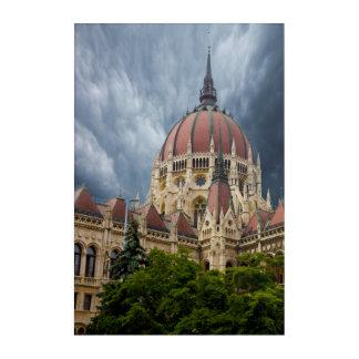 Parliament Building Composit Acrylic Print