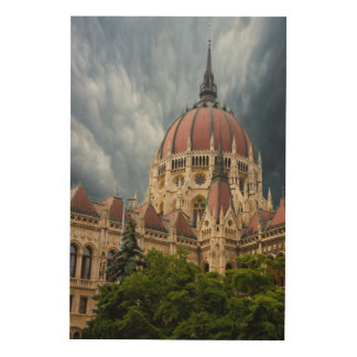 Parliament Building Composit Wood Wall Decor