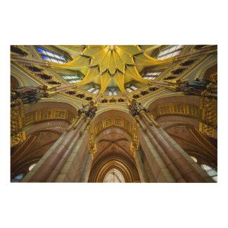 Parliament Building Interior Detail Wood Wall Art