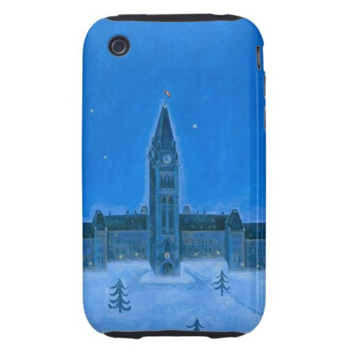 Parliament Buildings Ottawa Christmas iPhone 3 Tough Covers