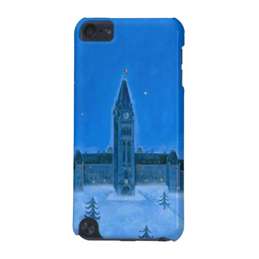 Parliament Buildings Ottawa Christmas iPod Touch 5G Covers
