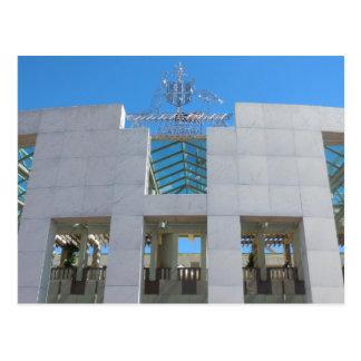 Parliament - Canberra Postcard