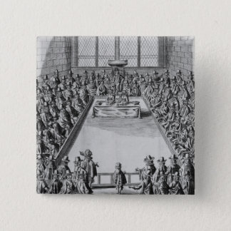 Parliament during the Commonwealth, 1650 15 Cm Square Badge