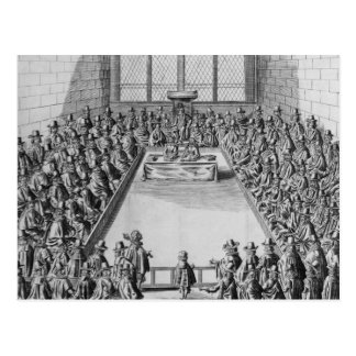 Parliament during the Commonwealth, 1650 Postcard