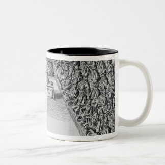 Parliament during the Commonwealth, 1650 Two-Tone Coffee Mug