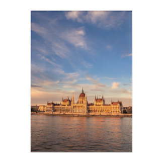 Parliament in Budapest Acrylic Wall Art