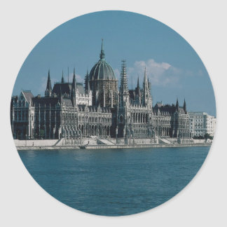 Parliament in Budapest Hungary Stickers