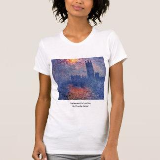 Parliament In London By Claude Monet T-shirt