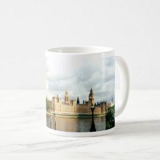 Parliament London Big Ben Thames, Landscape Coffee Mug