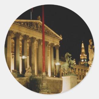 Parliament, Vienna, Austria Current Step: 12% Sticker