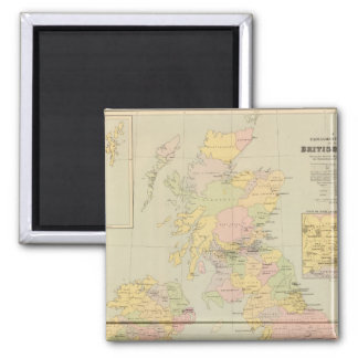 Parliamentary map, British Isles Magnet