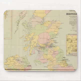 Parliamentary map, British Isles Mouse Mat