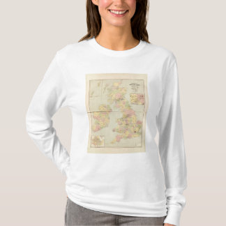 Parliamentary map, British Isles T-Shirt