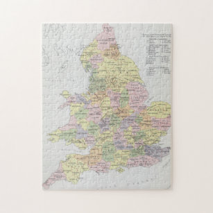 Parliamentary Representation   England & Wales Jigsaw Puzzle