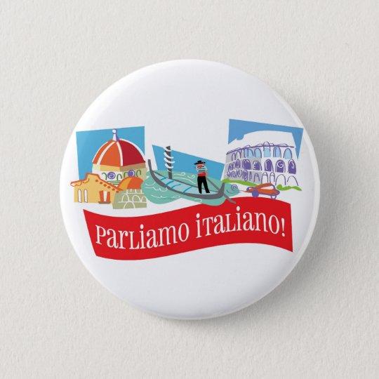 Parliamo Italiano Button