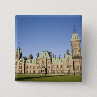 Parliment Building in Ottawa, Ontario, Canada 15 Cm Square Badge