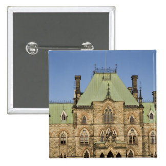 Parliment Building in Ottawa, Ontario, Canada 2 15 Cm Square Badge
