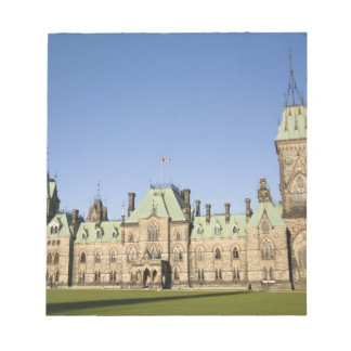 Parliment Building in Ottawa, Ontario, Canada Notepad