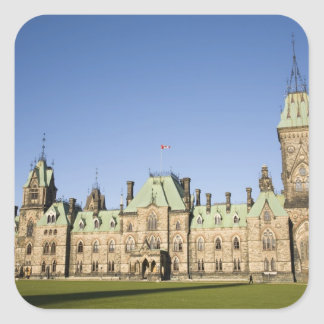 Parliment Building in Ottawa, Ontario, Canada Square Sticker