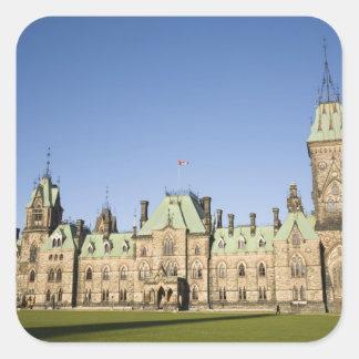 Parliment Building in Ottawa, Ontario, Canada Square Sticker