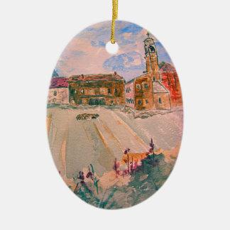 parma italy art christmas ornament