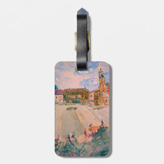 parma italy luggage tag