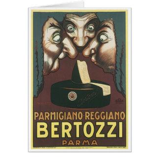 Parmagiana Reggiano Bertozzi Parma Ad Card