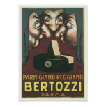 Parmagiana Reggiano Bertozzi Parma Ad Posters