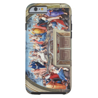 Parnassus and the Disputa, from the Stanza della S iPhone 6 Case