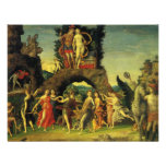 Parnassus; Mars and Venus by Andrea Mantegna Personalized Invitations