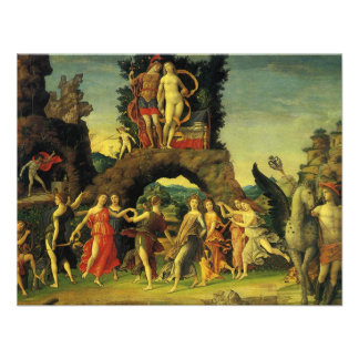 Parnassus; Mars and Venus by Andrea Mantegna Personalized Invite