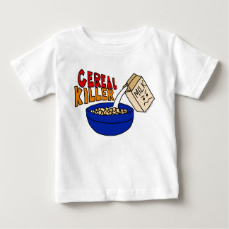 Parody Cereal Killer Breakfast Food Humor Baby T-Shirt