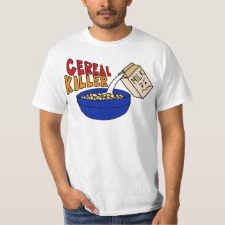 Parody Cereal Killer Breakfast Food Humor T-Shirt