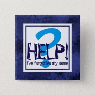 Parody Monogram 15 Cm Square Badge