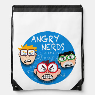 Parody of your favorite phone game: Angry Nerds, Backpacks