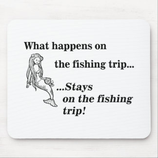 Parody What Happens On The Fishing Trip Mousepad