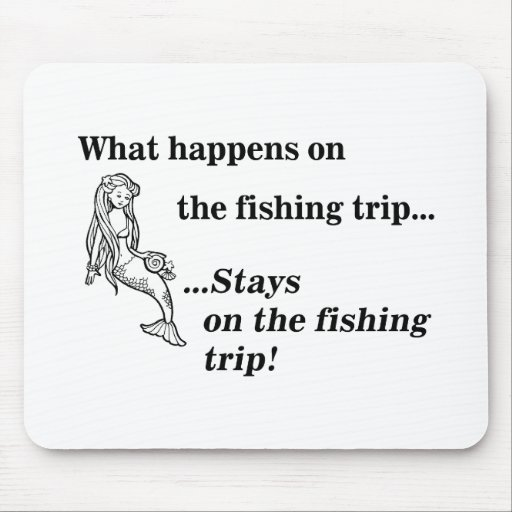 Parody: What Happens On The Fishing Trip Mousepad